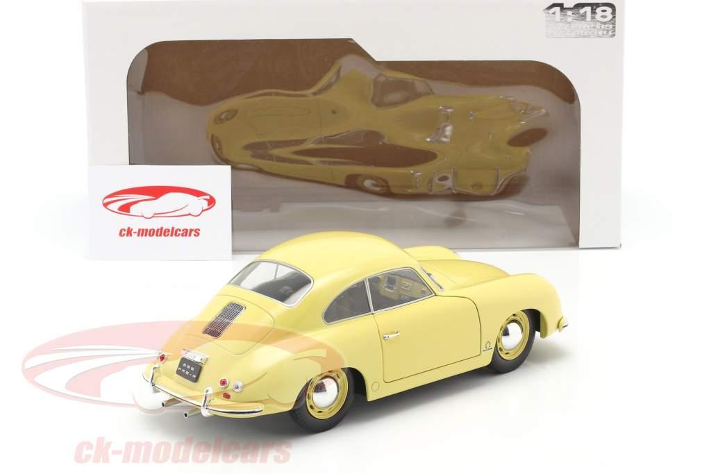 Porsche 356 Pre-A Coupe condor amarelo 1:18 Solido