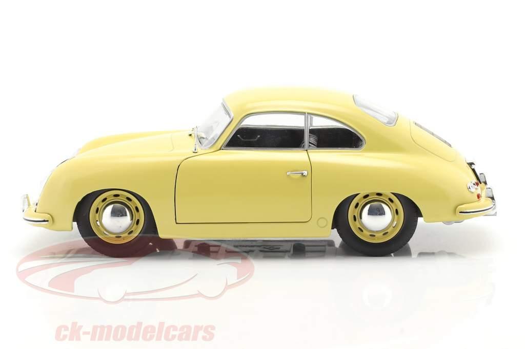 Porsche 356 Pre-A Coupe kondor gul 1:18 Solido