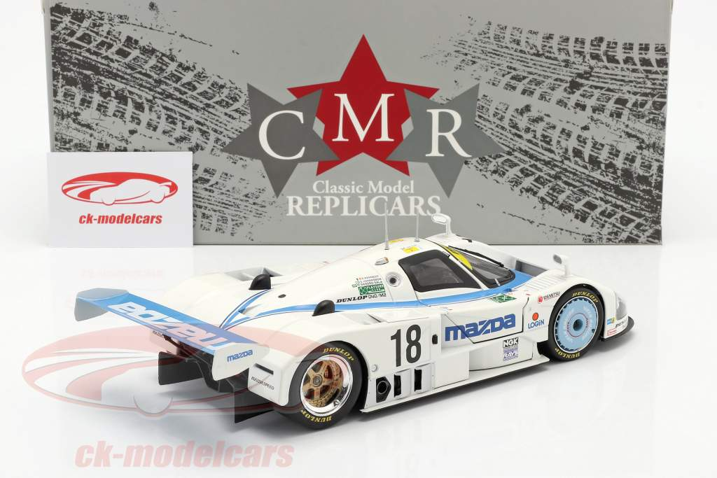 Mazda 787 #18 6 ° 24h LeMans 1991 Kennedy, Johansson, Sala 1:18 CMR