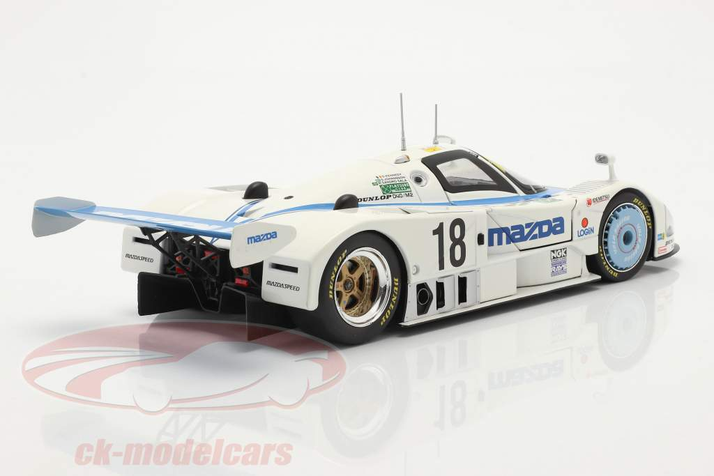 Mazda 787 #18 6th 24h LeMans 1991 Kennedy, Johansson, Sala 1:18 CMR