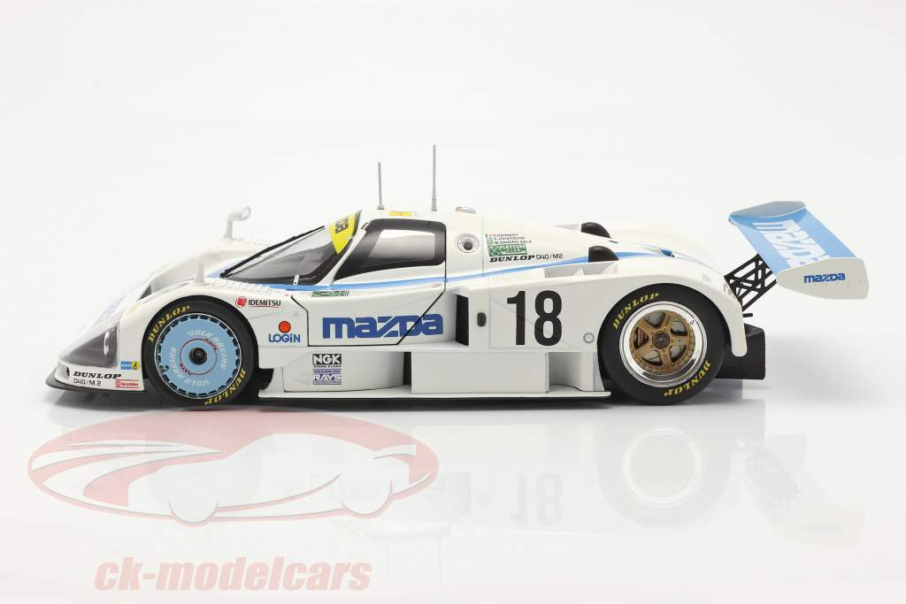 Mazda 787 #18 Sexto 24h LeMans 1991 Kennedy, Johansson, Sala 1:18 CMR