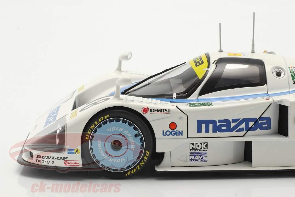 Mazda 787 #18 第六名 24h LeMans 1991 Kennedy, Johansson, Sala 1:18 CMR