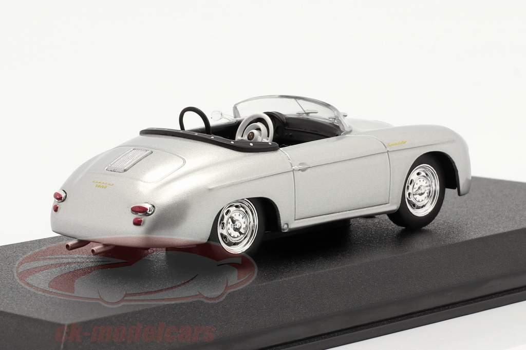 Porsche 356 Speedster Super Anno di costruzione 1958 argento metallico 1:43 Greenlight