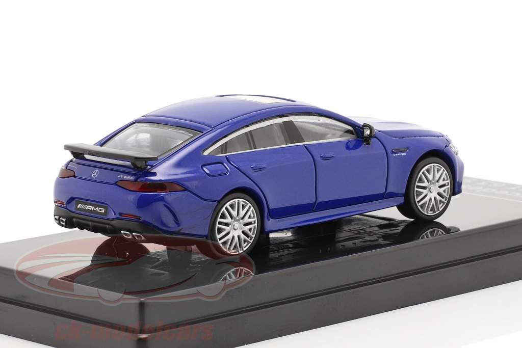 Mercedes-Benz AMG GT 63 S Année de construction 2019 bleu métallique 1:64 Paragon Models