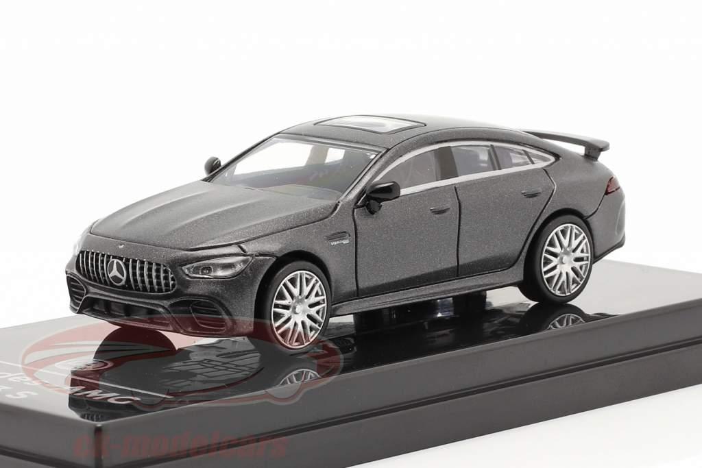Mercedes-Benz AMG GT 63 S Anno di costruzione 2019 stuoia grigio scuro 1:64 Paragon Models