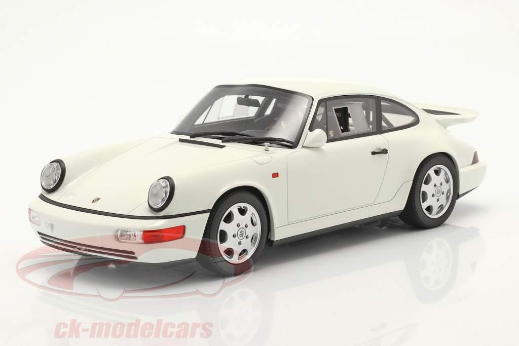 Porsche 911 (964) Carrera 4 Leightweight 1991 grand prix 白い 1:18 GT-Spirit
