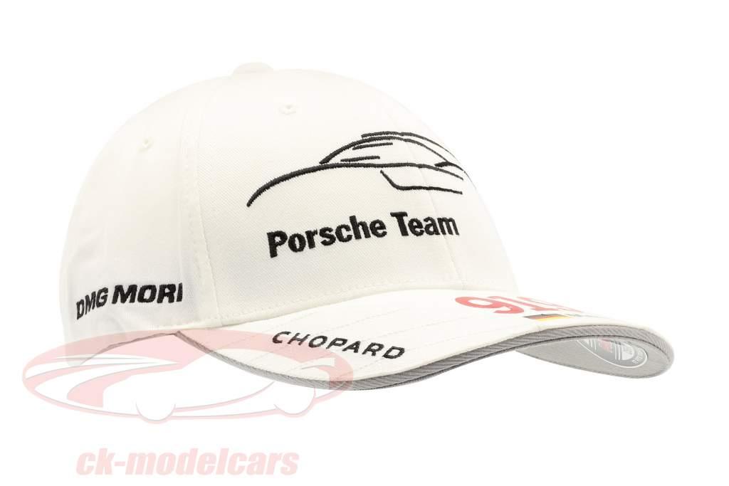 Porsche Team Cap Marc Lieb 919 Hybrid blanc