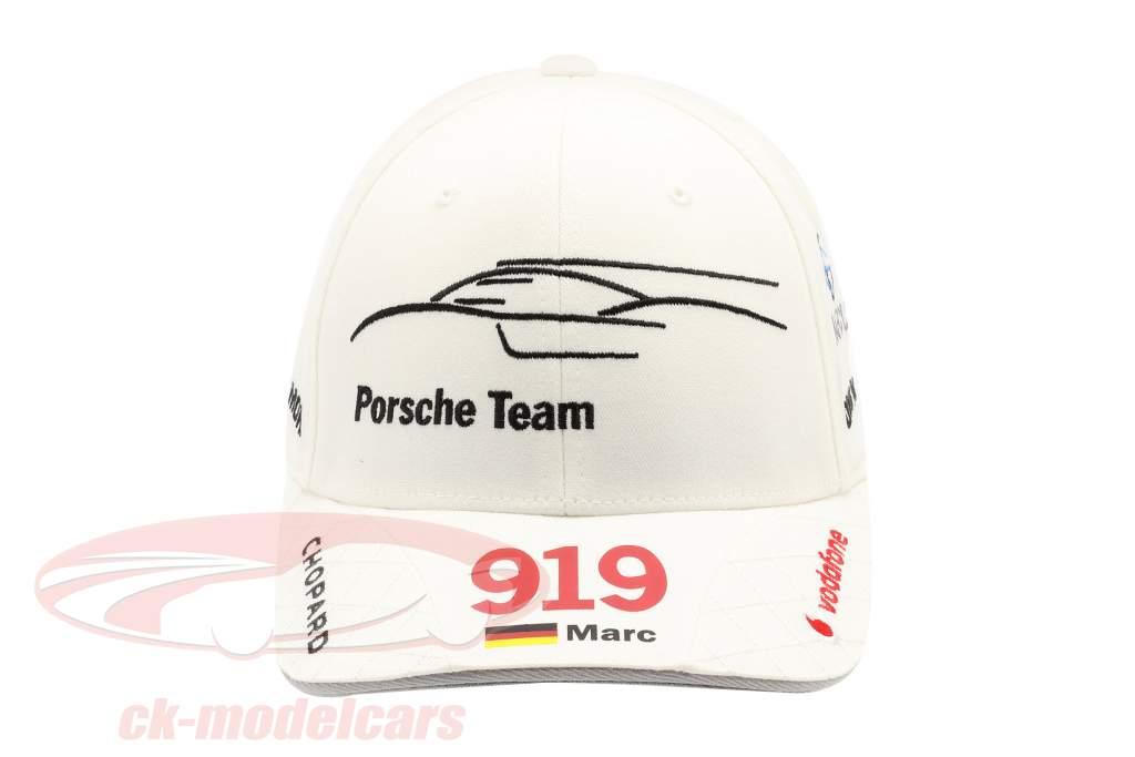 Porsche Team Cap Marc Lieb 919 Hybrid Wit