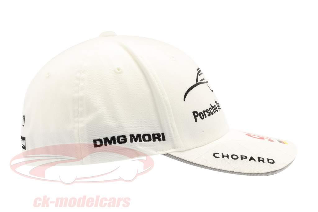 Porsche Team Cap Marc Lieb 919 Hybrid bianca