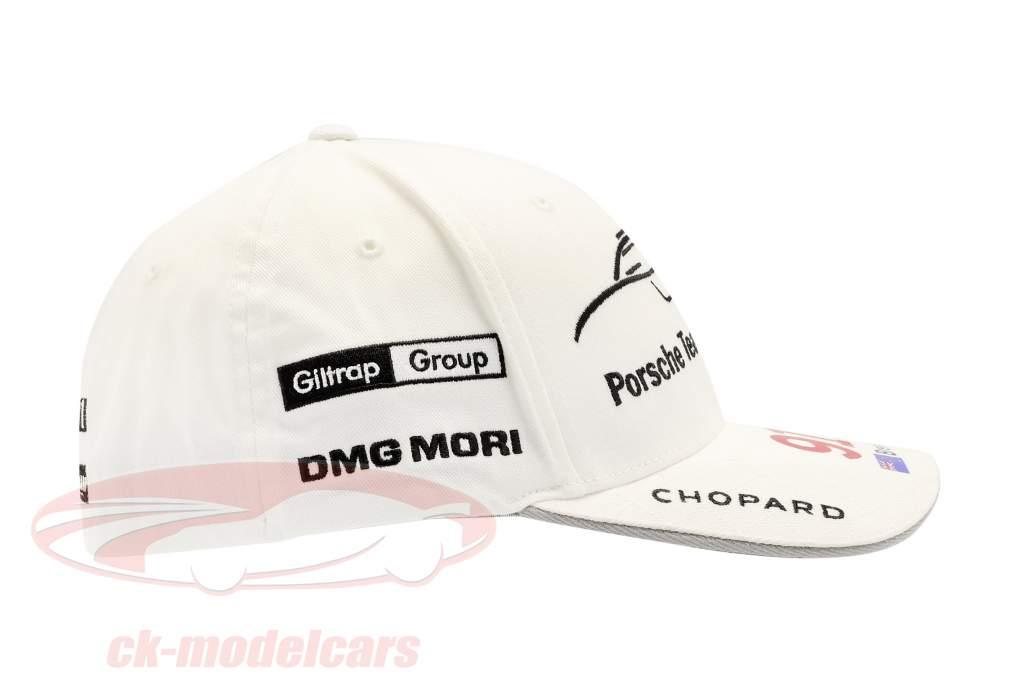 Porsche Team Cap Brendon Hartley 919 Hybrid bianca