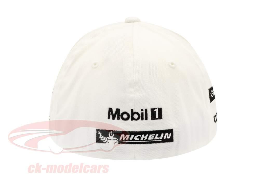 Porsche Team Cap Brendon Hartley 919 Hybrid Wit