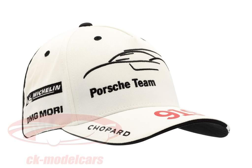 Porsche Team Cap LeMans 919 Hybrid blanco