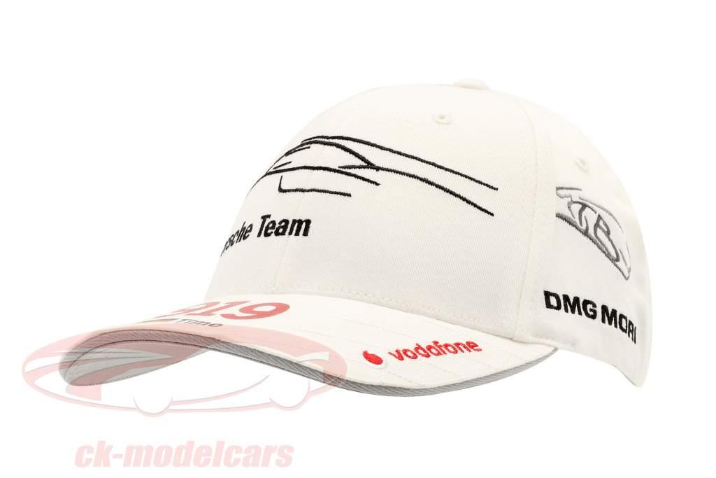 Porsche Team Cap Timo Bernhard 919 Hybrid Wit