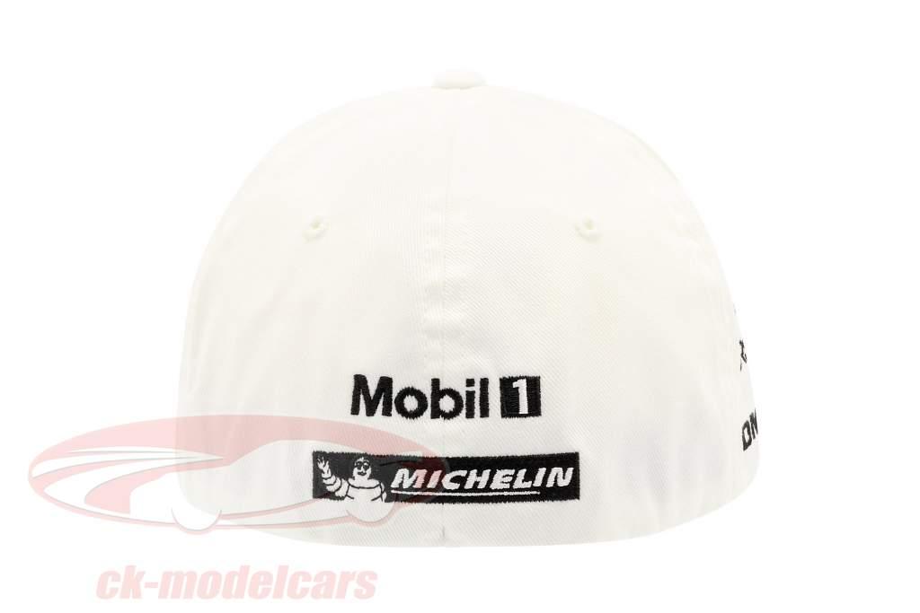 Porsche Team Cap Timo Bernhard 919 Hybrid white