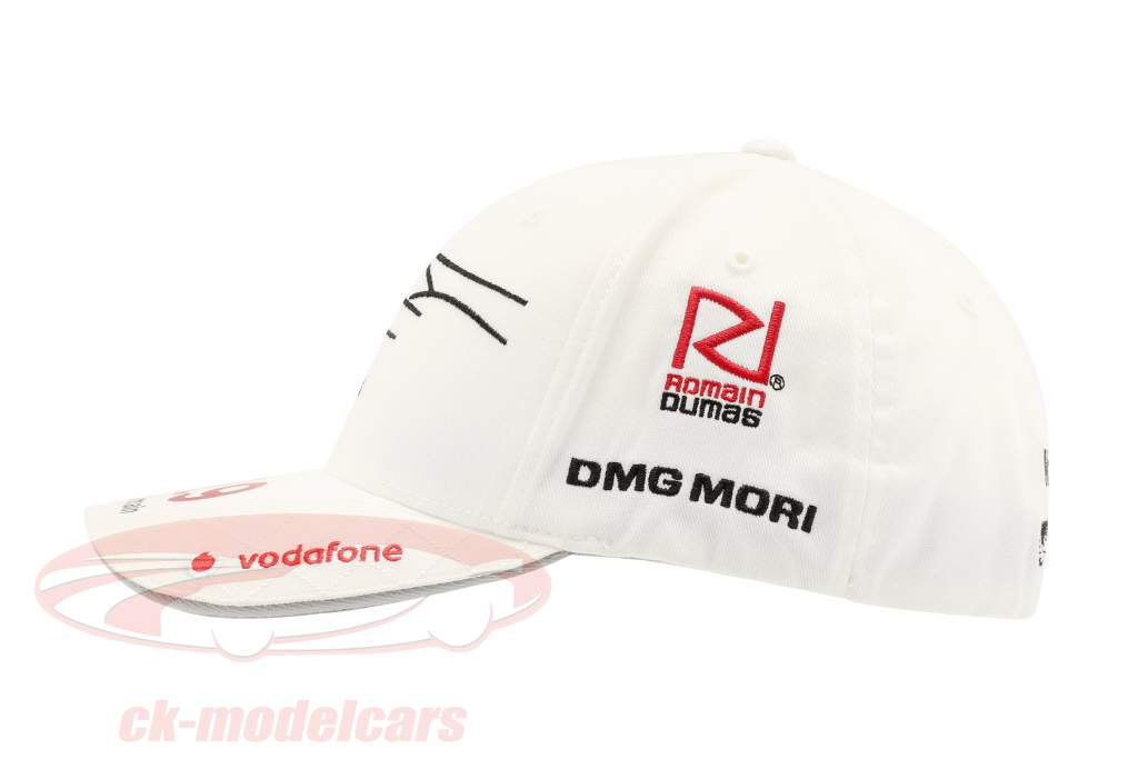Porsche Team Cap Romain Dumas 919 Hybrid blanc
