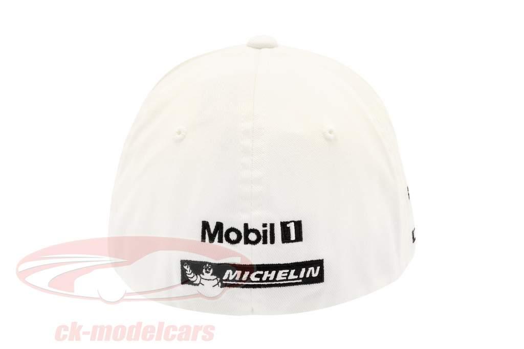 Porsche Team Cap Romain Dumas 919 Hybrid bianca