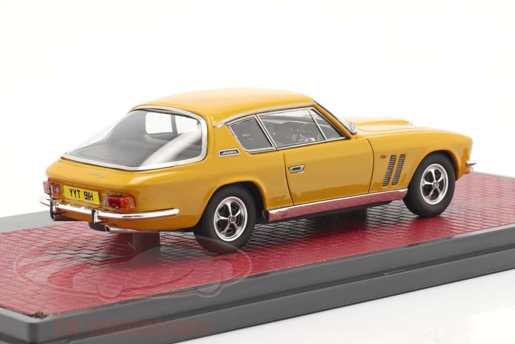 Jensen Interceptor FF Series II Byggeår 1970 mango gul 1:43 Matrix
