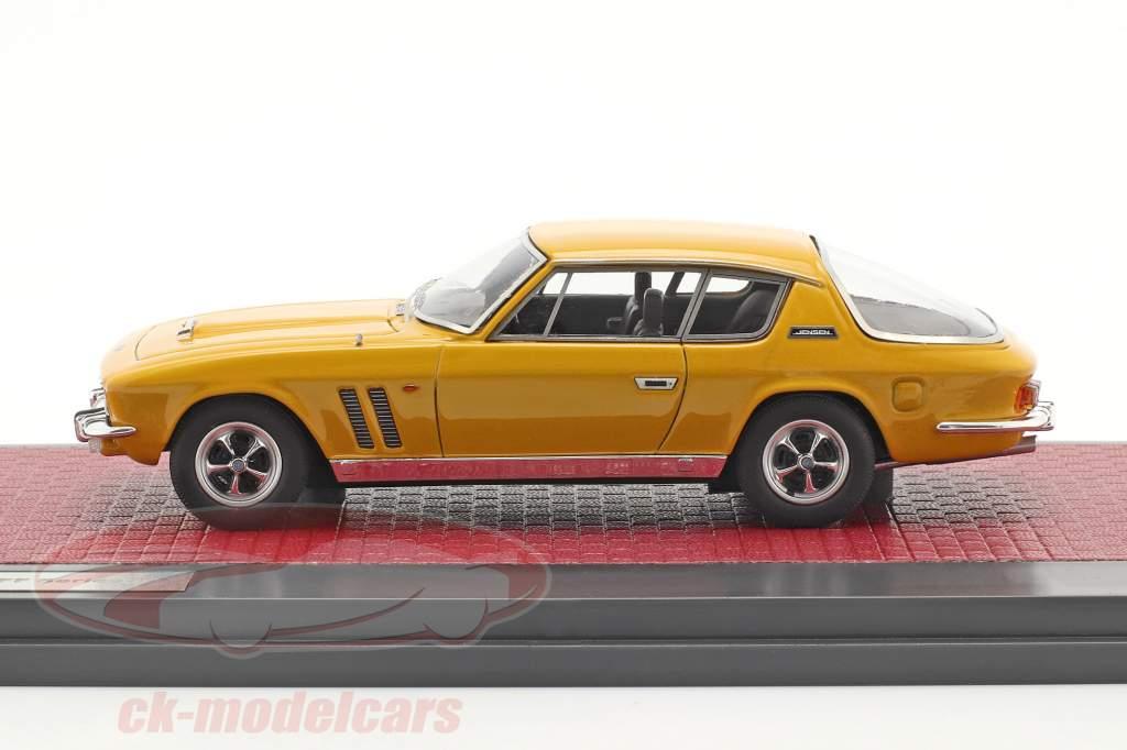Jensen Interceptor FF Series II Año de construcción 1970 mango amarillo 1:43 Matrix