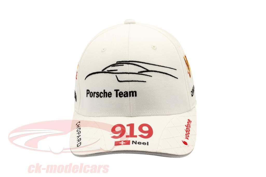 Porsche Team Cap Neel Jani 919 Hybrid white
