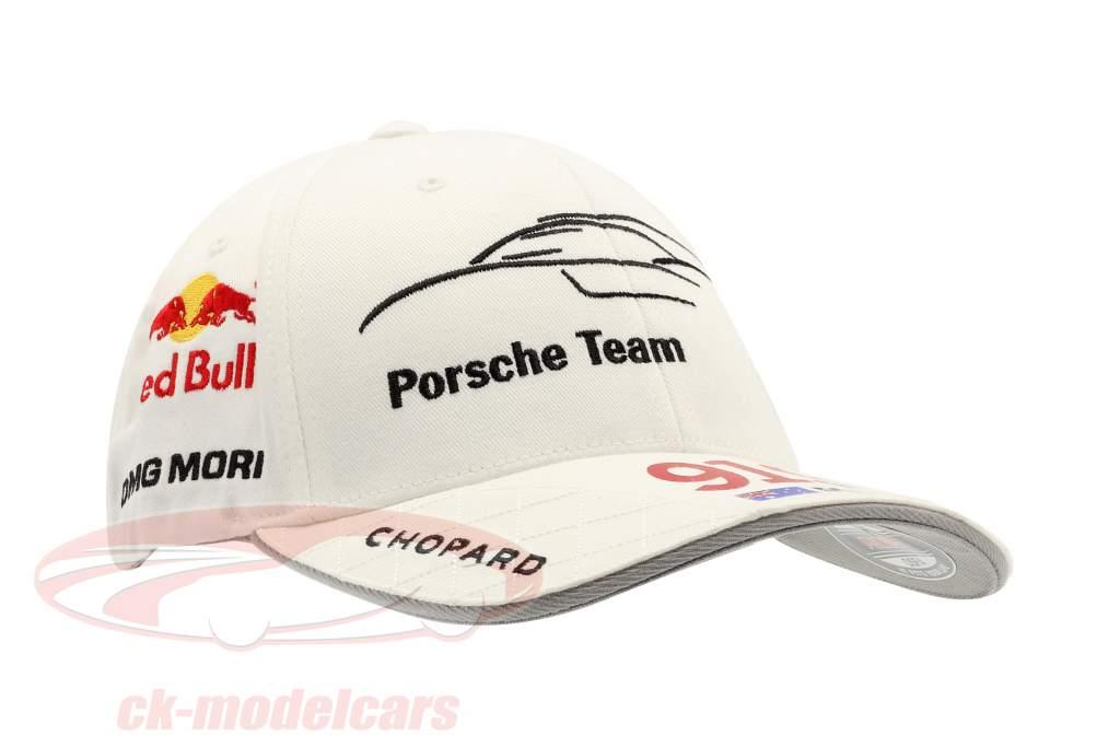 Porsche Team Cap Mark Webber 919 Hybrid bianca