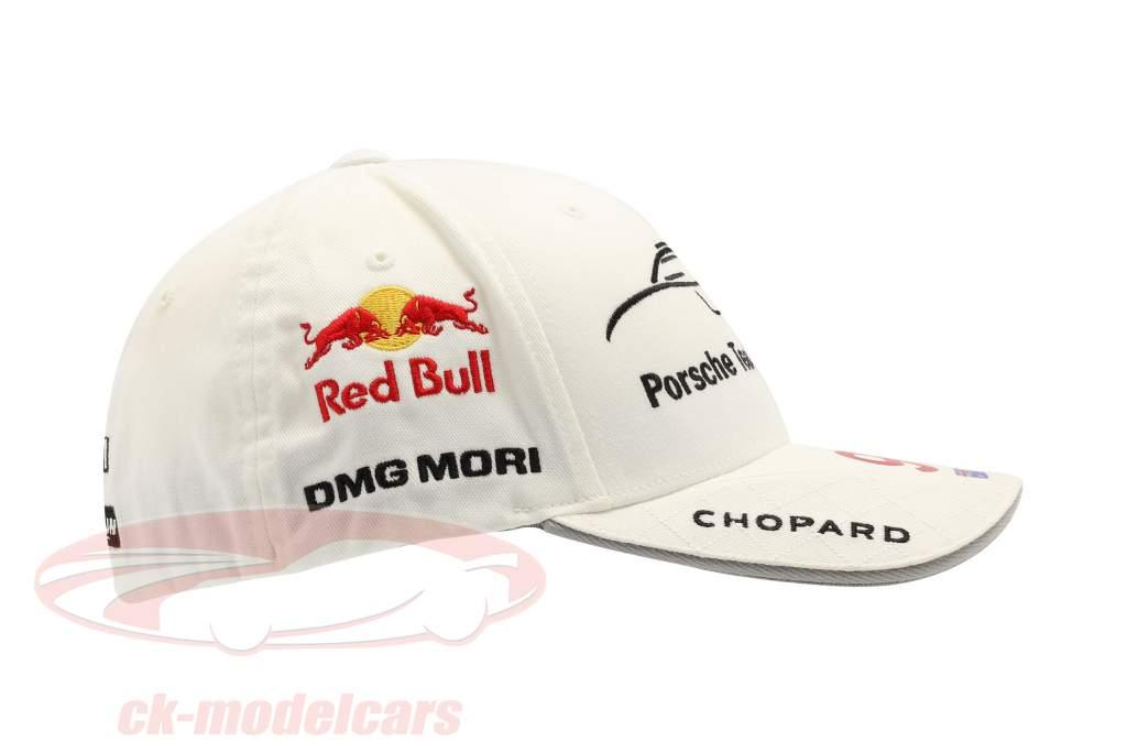 Porsche Team Cap Mark Webber 919 Hybrid Branco