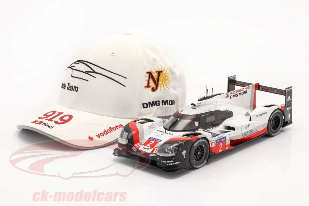 Porsche Team Cap Neel Jani 919 Hybrid bianca