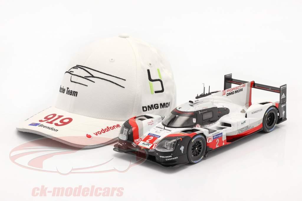 Porsche Team Cap Brendon Hartley 919 Hybrid white