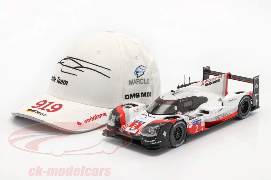 Porsche Team Cap Marc Lieb 919 Hybrid hvid