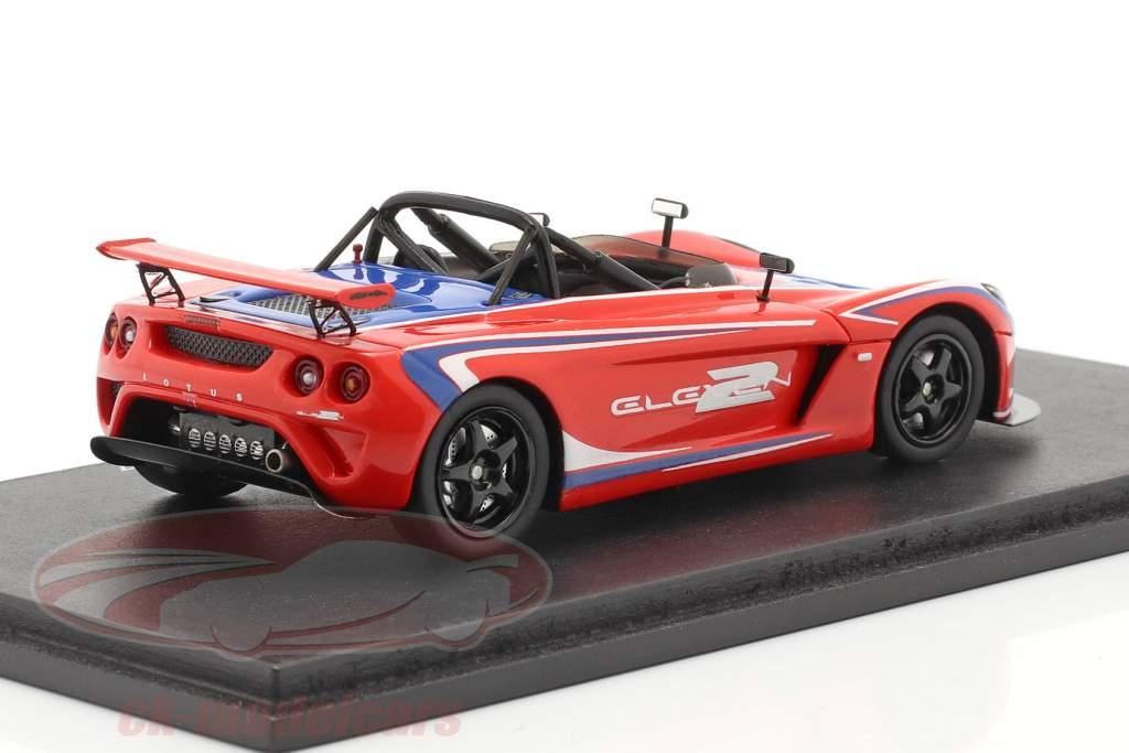 Lotus 2 Eleven Tokyo Motorshow 2007 rot / blau 1:43 Spark