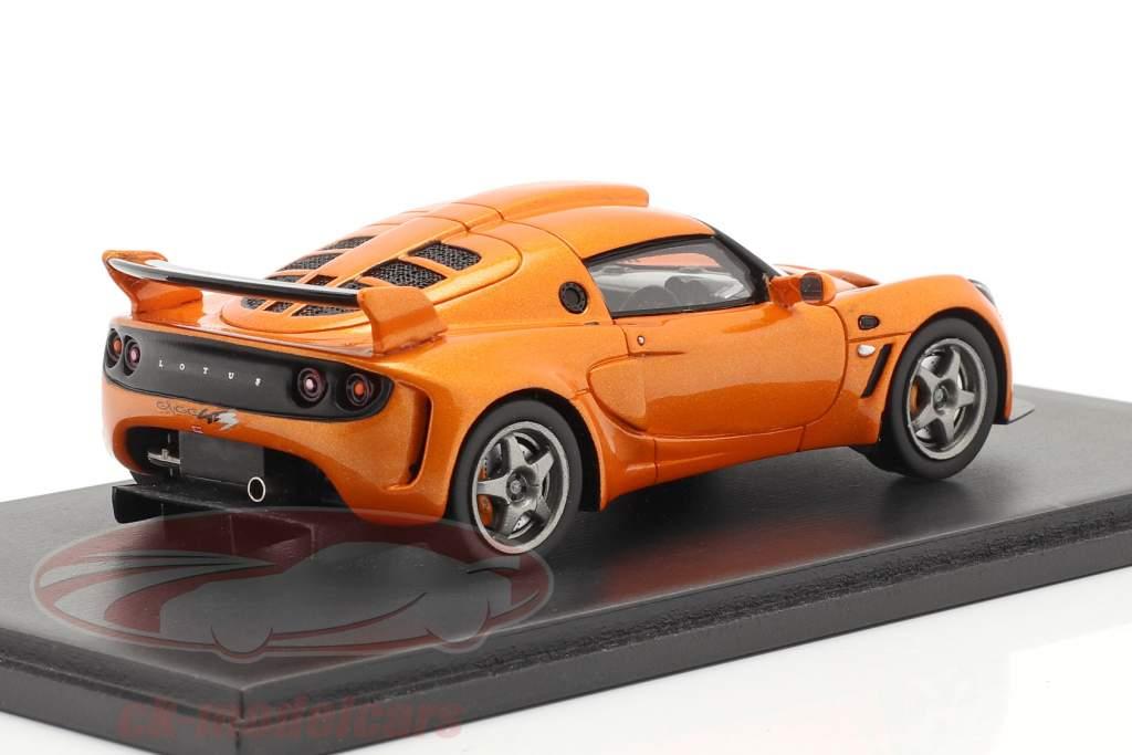 Lotus Exige GT3 Concept 2007 oranje 1:43 Spark