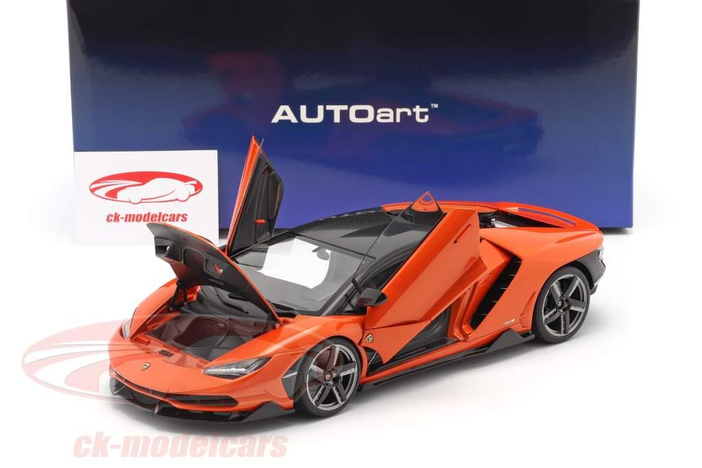 Lamborghini Centenario Bouwjaar 2016 parel oranje 1:18 AUTOart
