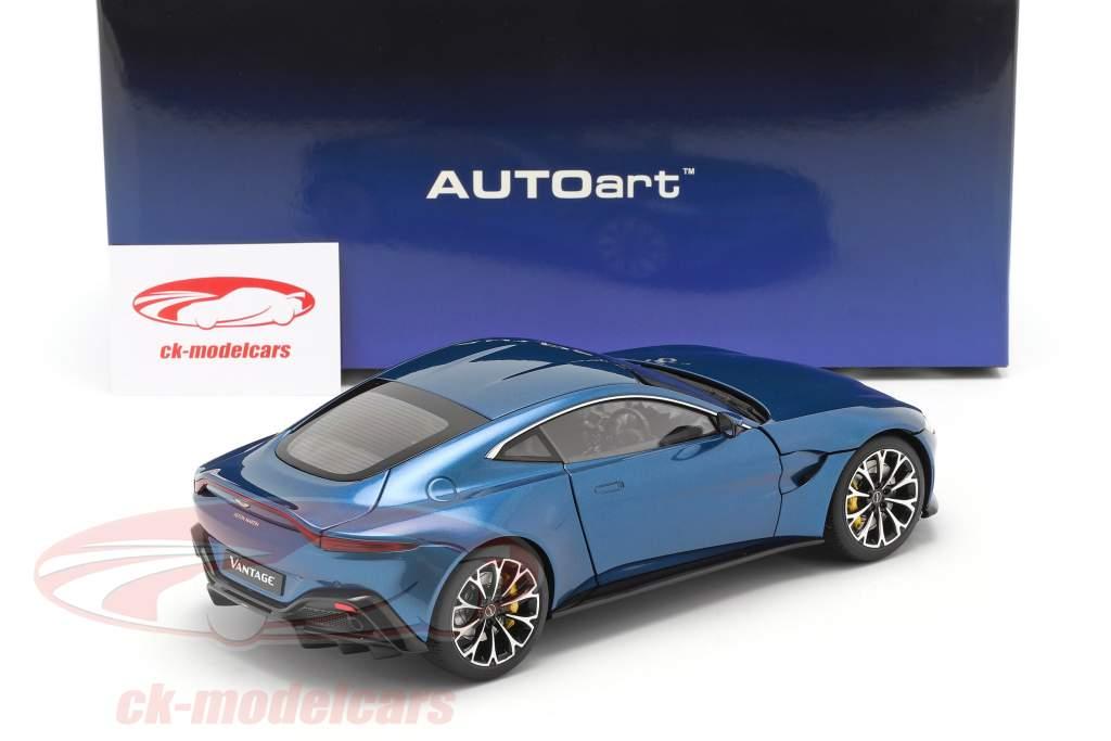 Aston Martin Vantage year 2019 ming blue 1:18 AUTOart