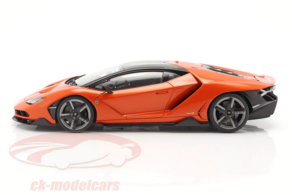 Lamborghini Centenario year 2016 pearl orange 1:18 AUTOart