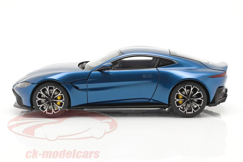Aston Martin Vantage Année de construction 2019 ming bleu 1:18 AUTOart