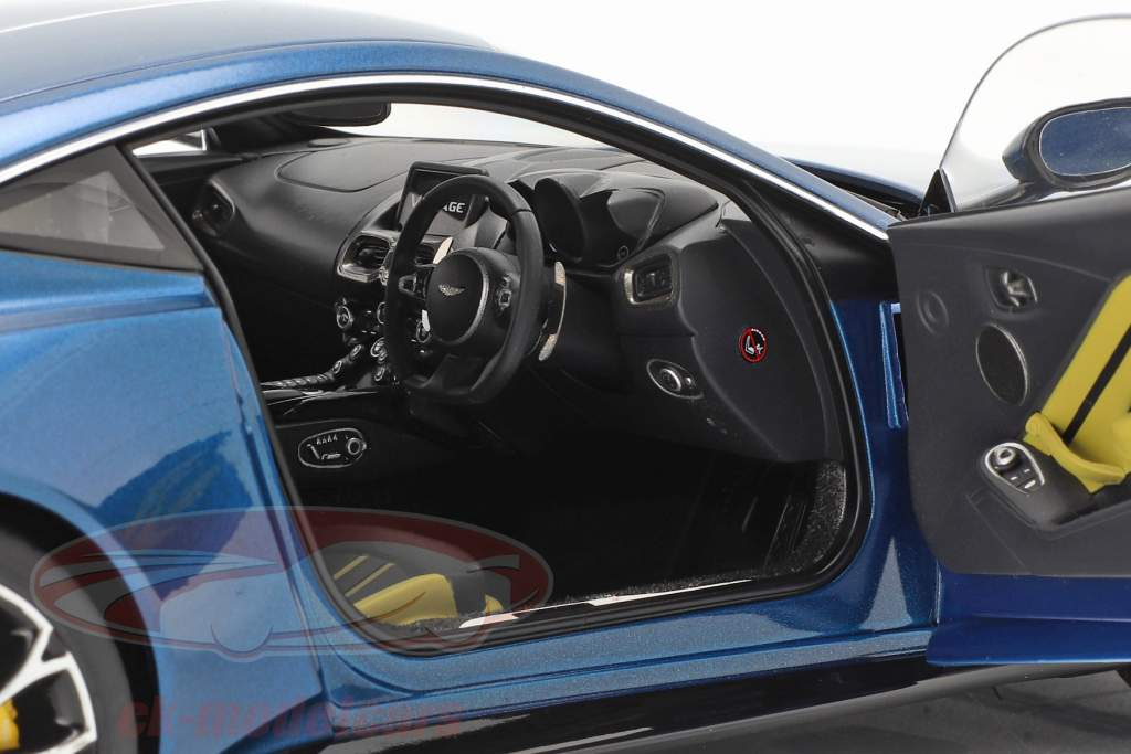 Aston Martin Vantage Año de construcción 2019 ming azul 1:18 AUTOart