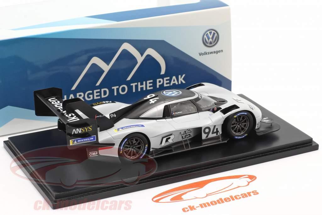 Volkswagen VW ID. R #94 Winnaar Pikes Peak Hill Climb 2018 R. Dumas 1:43 Spark