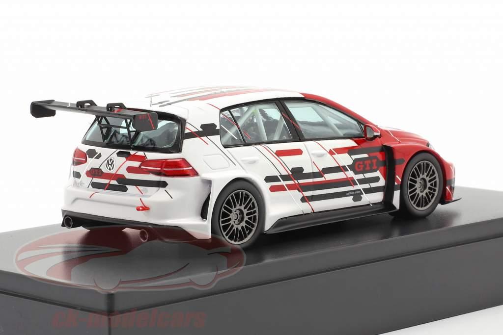 Volkswagen VW Golf VII GTI TCR year 2019 red / white 1:43 VW Motorsport