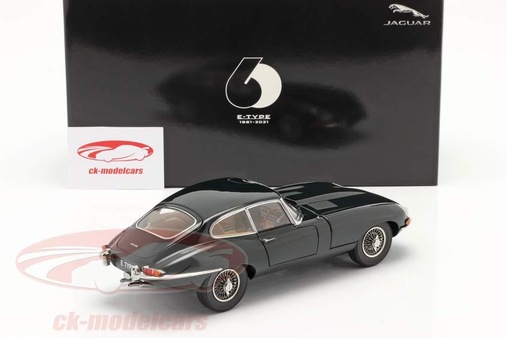 Jaguar E-Type Coupe RHD Année de construction 1961 british racing vert 1:18 Kyosho
