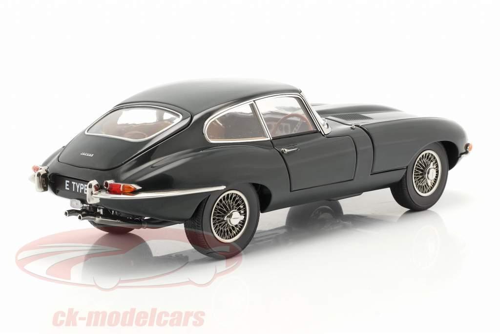 Jaguar E-Type Coupe RHD Byggeår 1961 british racing grøn 1:18 Kyosho