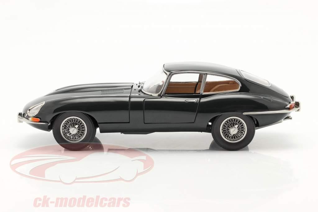 Jaguar E-Type Coupe RHD Bouwjaar 1961 british racing groen 1:18 Kyosho