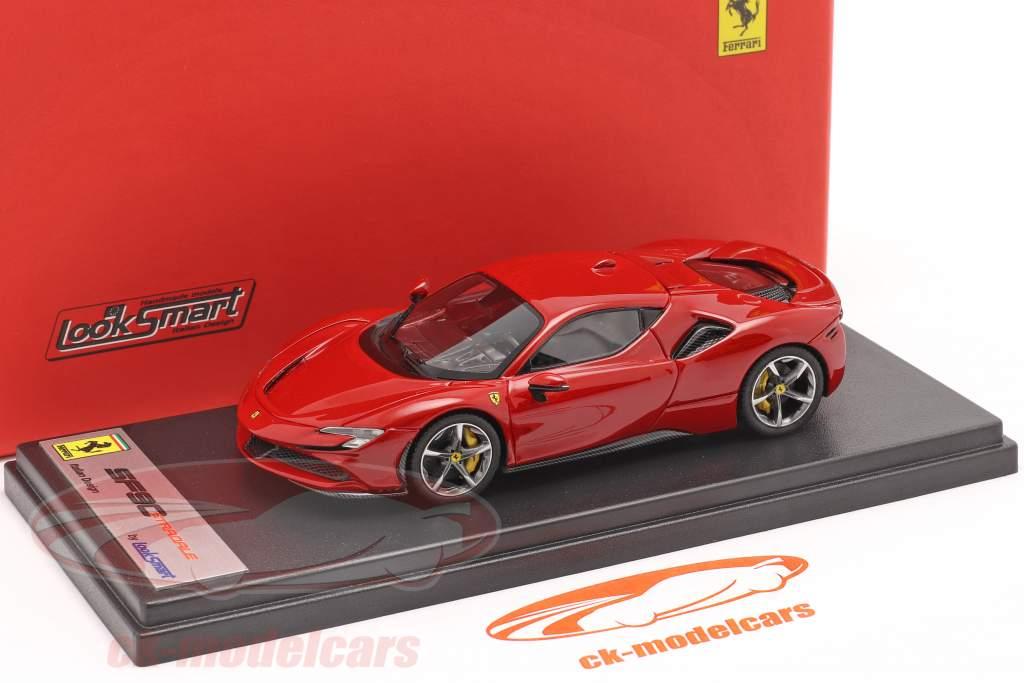 Ferrari SF90 Stradale Anno di costruzione 2019 corsa rosso metallico 1:43 LookSmart