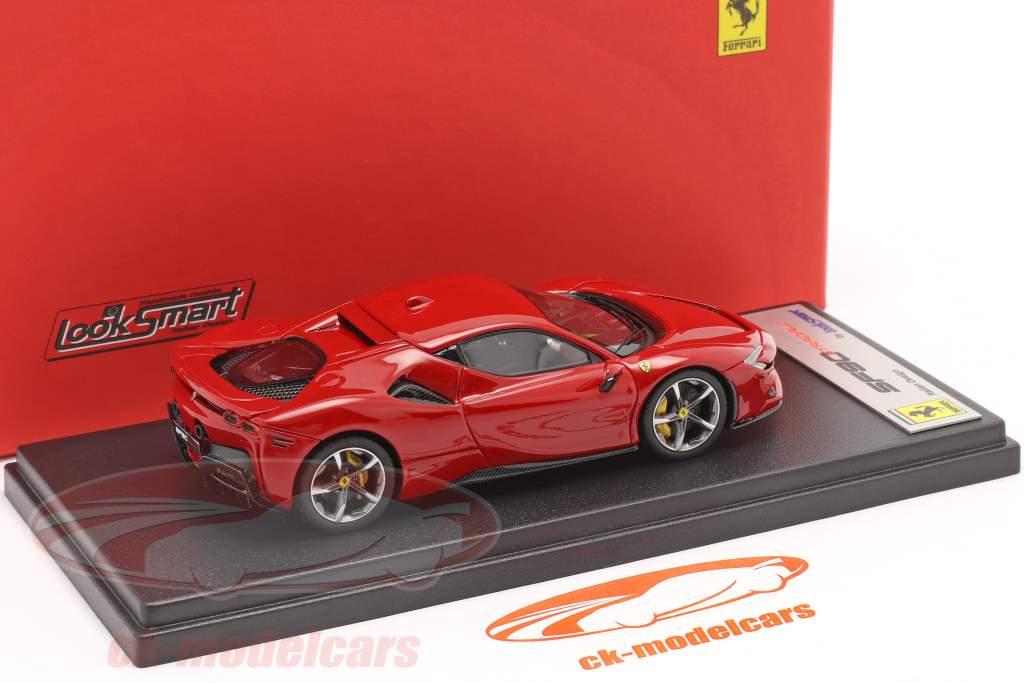 Ferrari SF90 Stradale Byggeår 2019 corsa rød metallisk 1:43 LookSmart