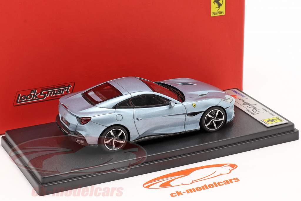 Ferrari Portofino M Ano de construção 2020 cinza azul metálico 1:43 LookSmart