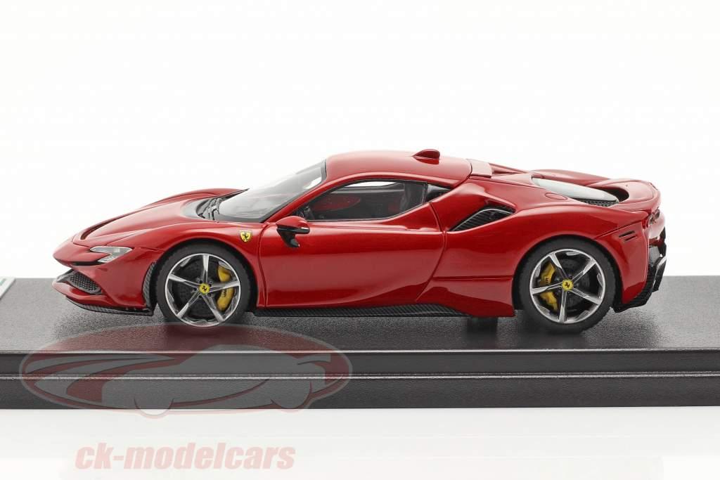 Ferrari SF90 Stradale Baujahr 2019 corsa rot metallic 1:43 LookSmart