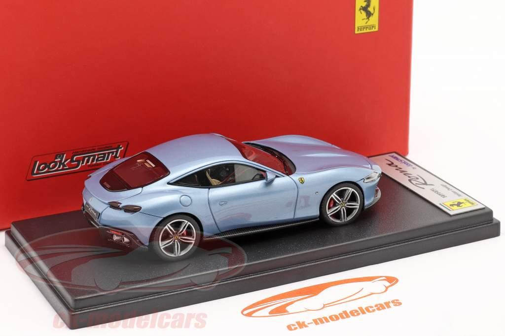 Ferrari Roma Año de construcción 2020 California Azul claro metálico 1:43 LookSmart
