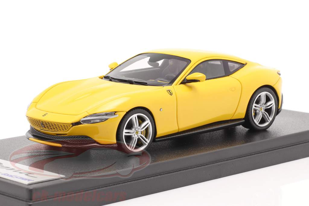 Ferrari Roma Année de construction 2020 jaune 1:43 LookSmart