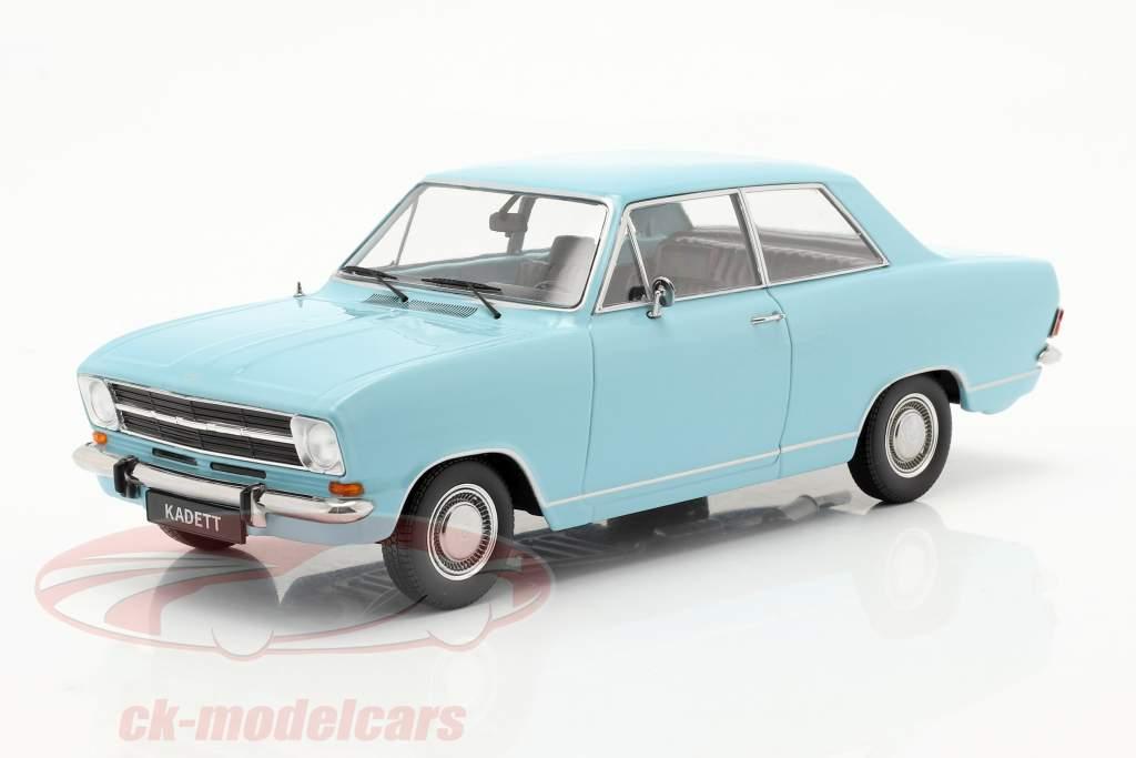Opel Kadett B year 1965 light blue 1:18 KK-Scale