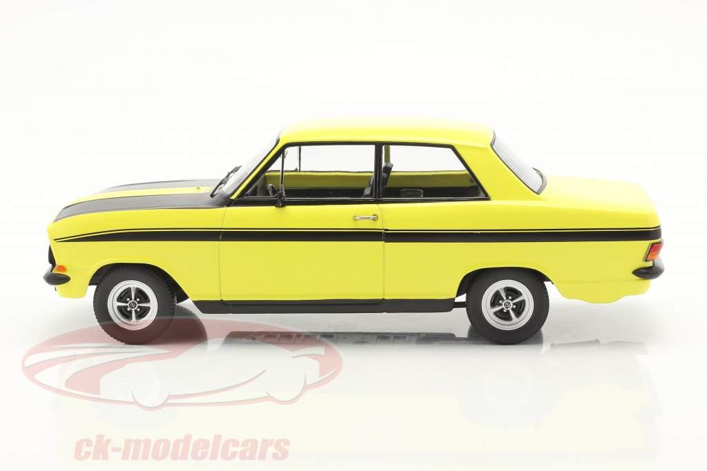 Opel Kadett B Sport Año de construcción 1973 amarillo / negro 1:18 KK-Scale