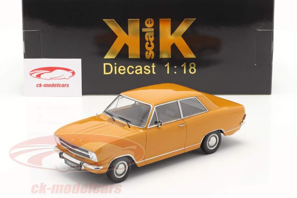 Opel Kadett B Ano de construção 1965 laranja escuro 1:18 KK-Scale