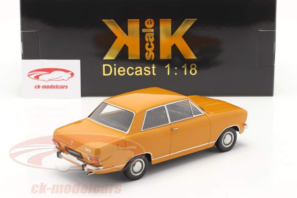 Opel Kadett B Année de construction 1965 Orange sombre 1:18 KK-Scale